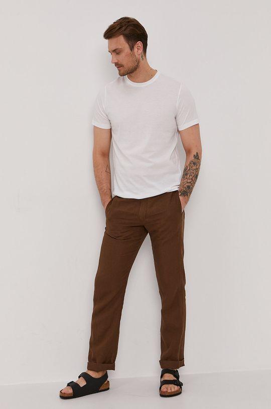 Strellson - Spodnie brązowy