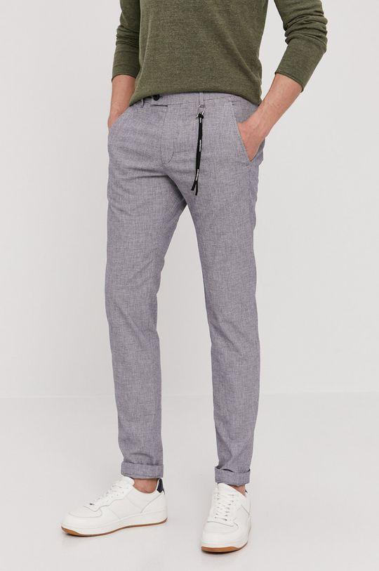 niebieski Strellson - Spodnie Męski