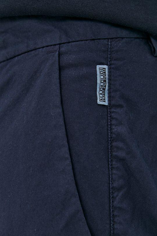 granatowy Napapijri - Spodnie