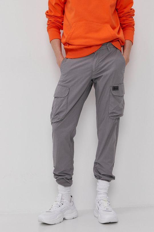 Napapijri - Spodnie szary