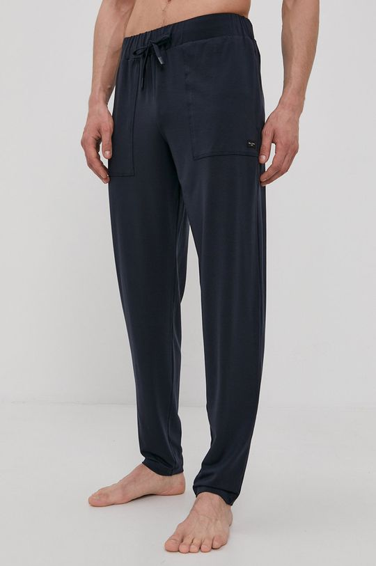 tmavomodrá Marc O'Polo - Pyžamové nohavice Pánsky