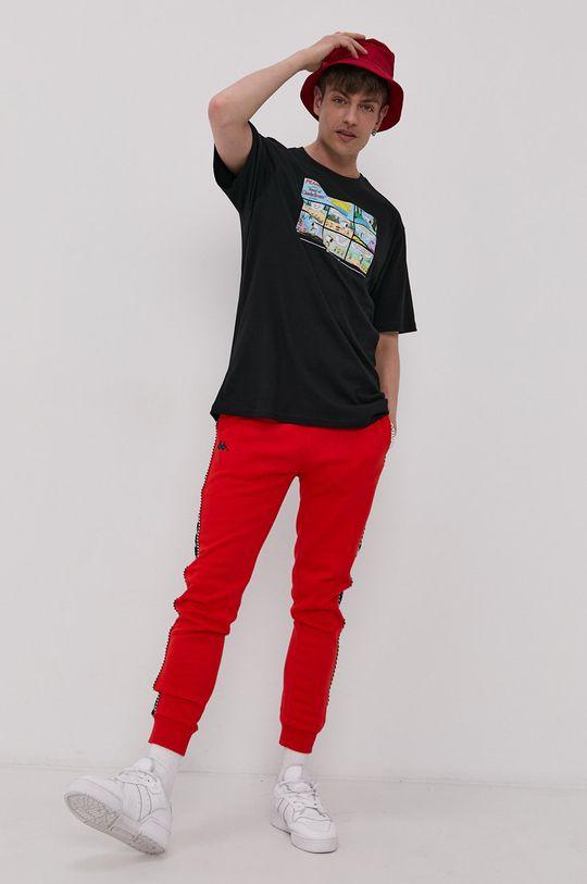 Kappa - Spodnie czerwony