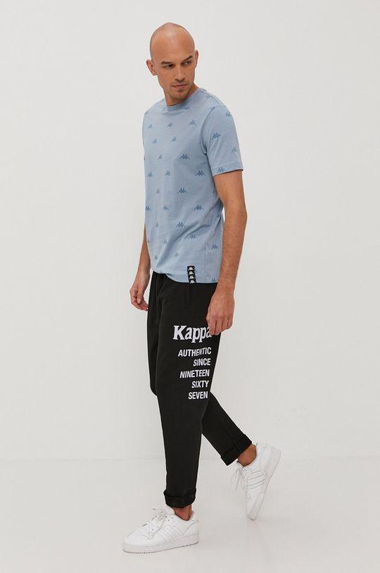 czarny Kappa - Spodnie Męski