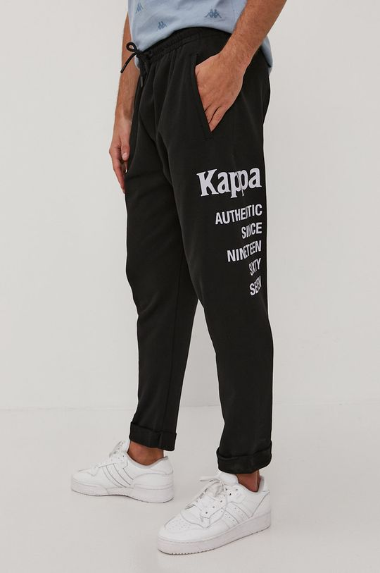 Kappa - Spodnie czarny