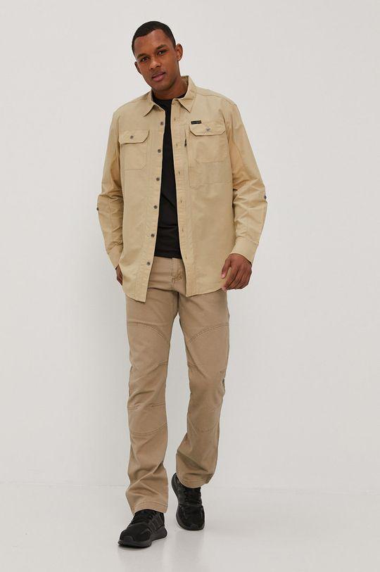 Wrangler - Spodnie ATG kawowy