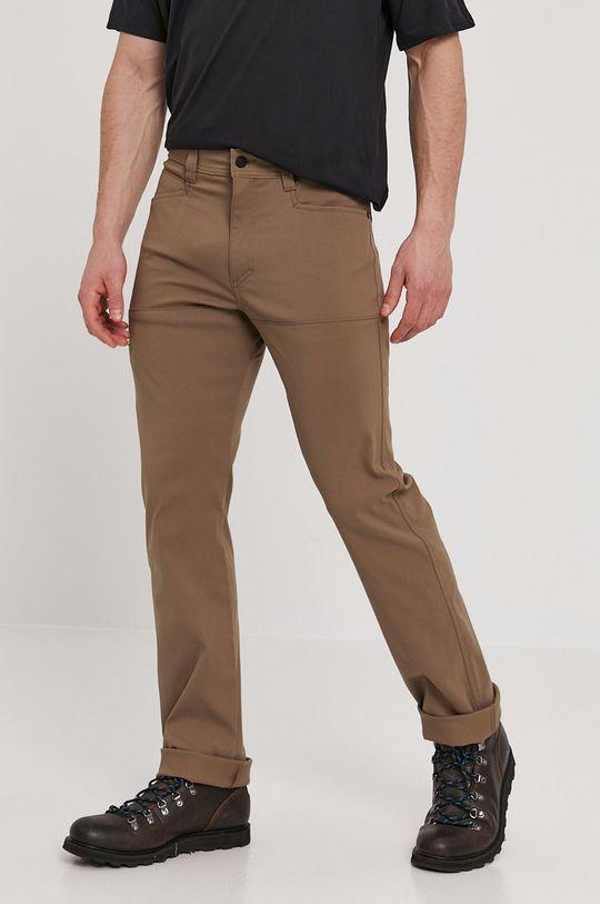 kávová Wrangler - Kalhoty ATG Pánský