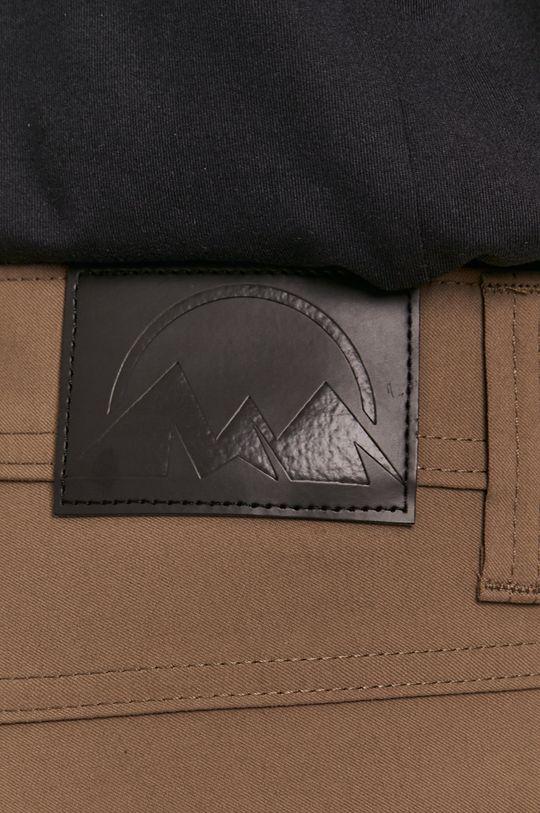 kávová Wrangler - Kalhoty ATG