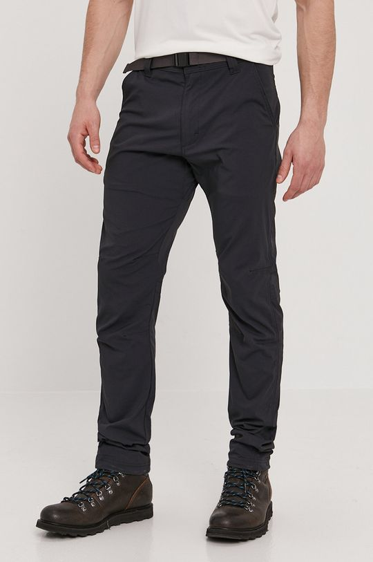 czarny Wrangler - Spodnie ATG Męski