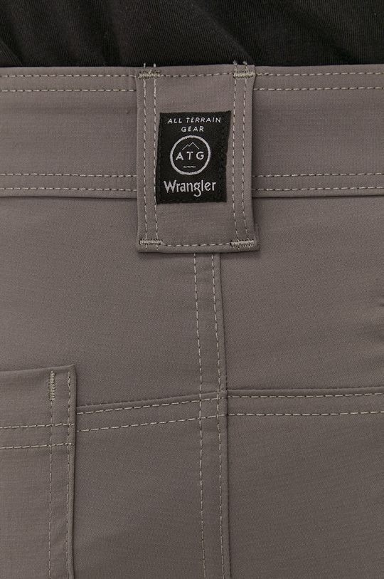 szary Wrangler - Spodnie ATG