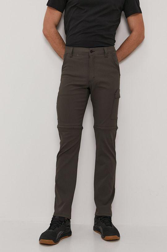 zielony Wrangler - Spodnie Męski