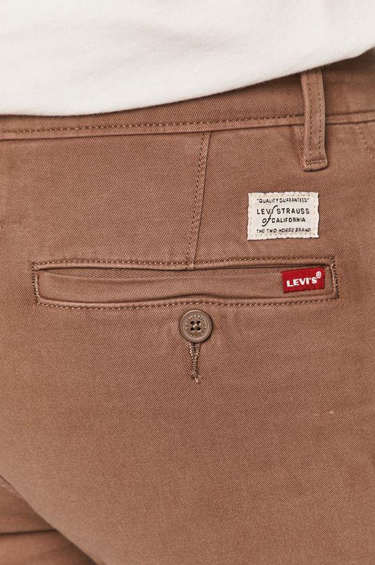 brązowy Levi's - Spodnie