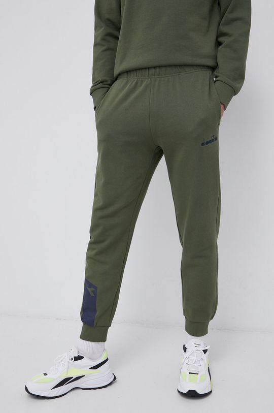 Diadora - Spodnie brązowa zieleń