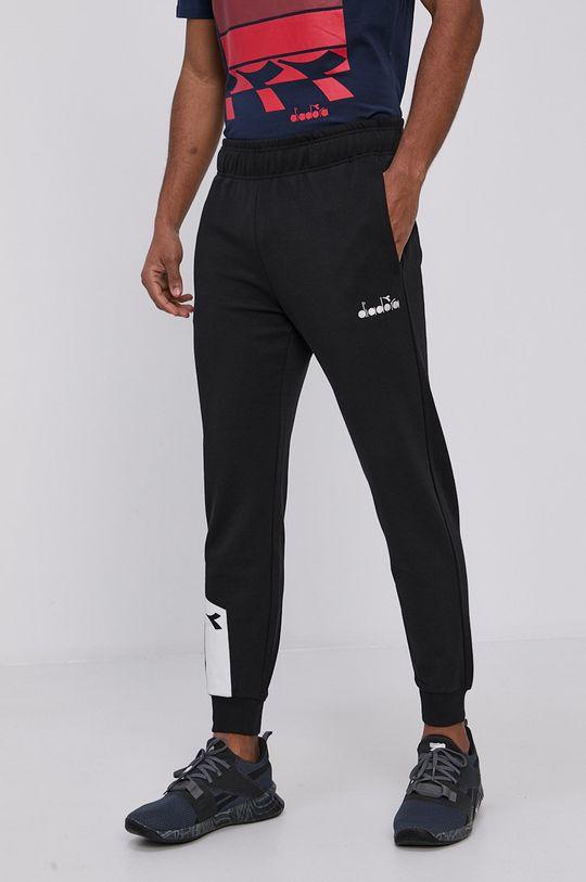 černá Diadora - Kalhoty Pánský
