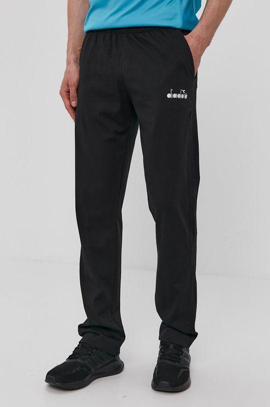 czarny Diadora - Spodnie Męski