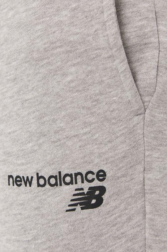 szary New Balance - Spodnie