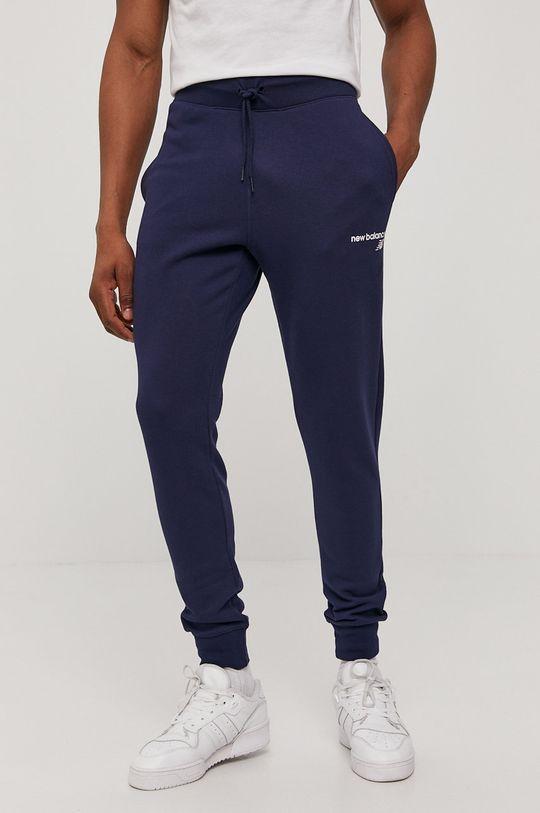 granatowy New Balance - Spodnie Męski