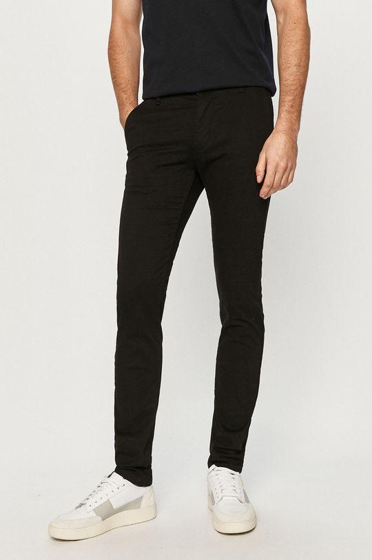 černá Dr. Denim - Kalhoty Pánský