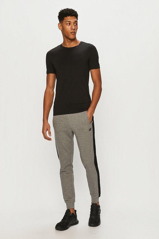4F - Nohavice svetlosivá