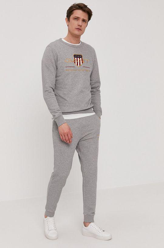 Gant - Spodnie szary