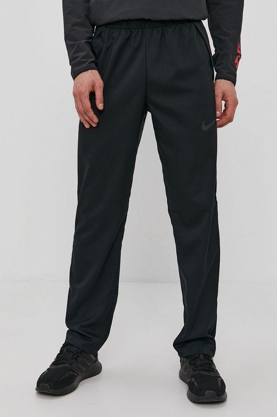 czarny Nike - Spodnie Męski
