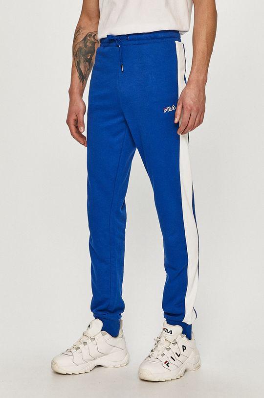 niebieski Fila - Spodnie Męski
