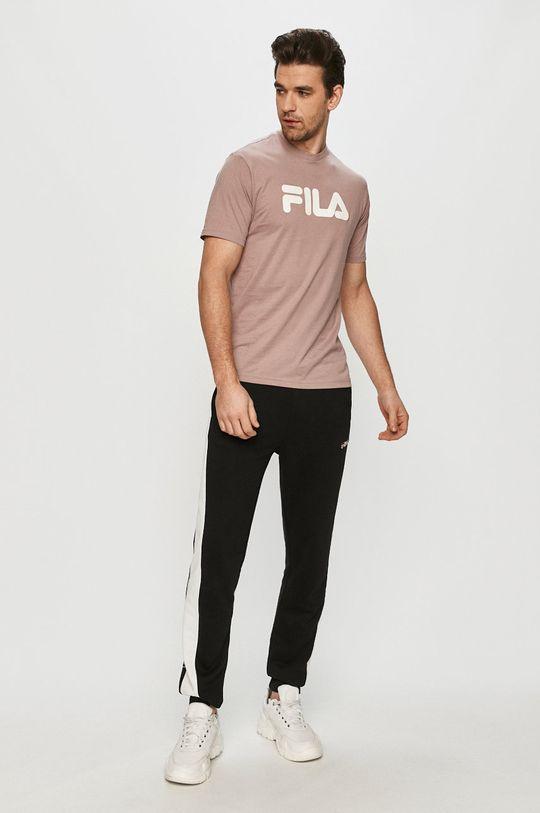 Fila - Spodnie czarny