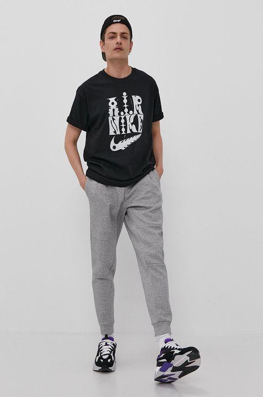 Nike Sportswear - Nohavice svetlosivá