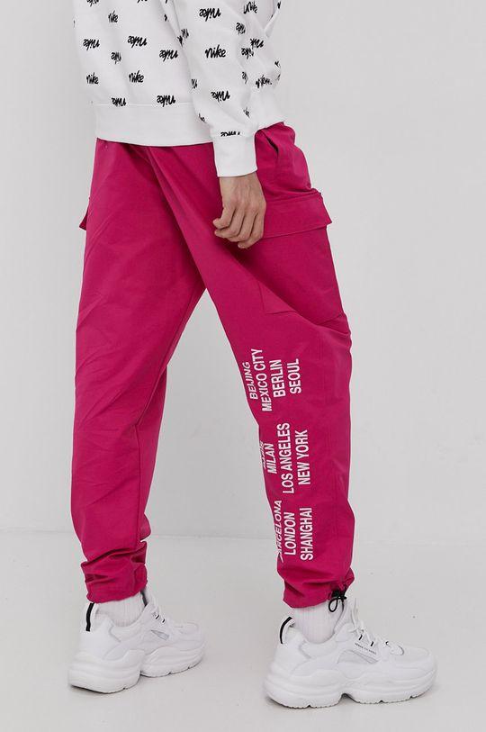 fuksja Nike Sportswear - Spodnie Męski