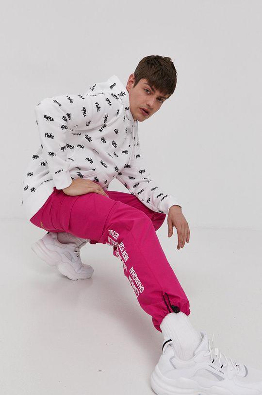 fuksja Nike Sportswear - Spodnie