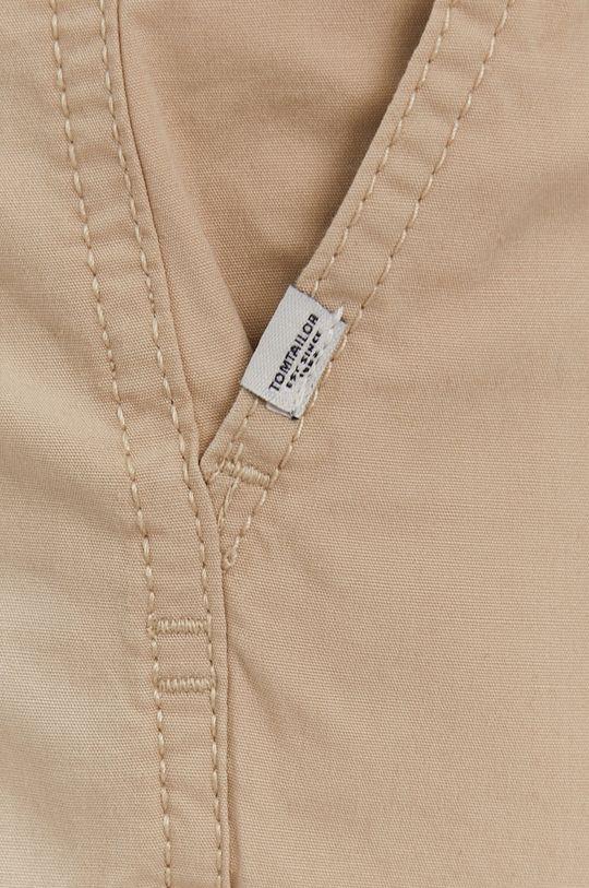 beżowy Tom Tailor - Spodnie