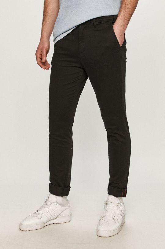 czarny Jack & Jones - Spodnie Męski