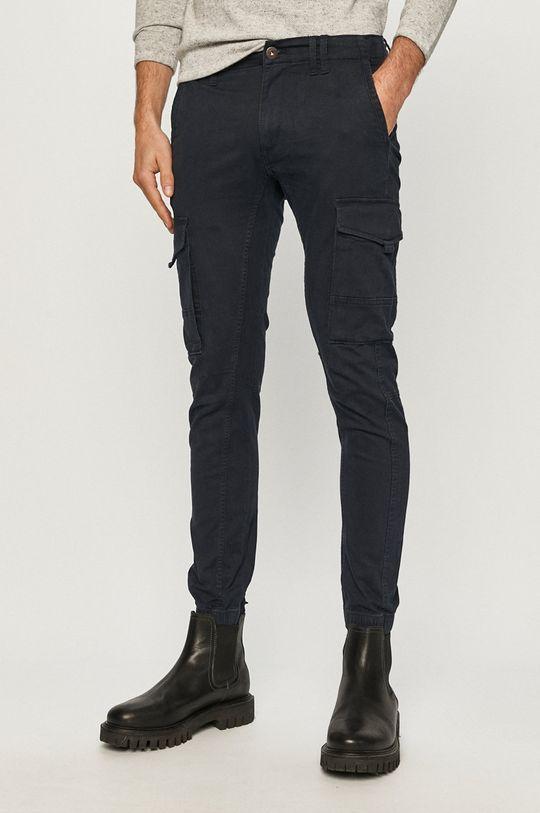 granatowy Jack & Jones - Spodnie Męski
