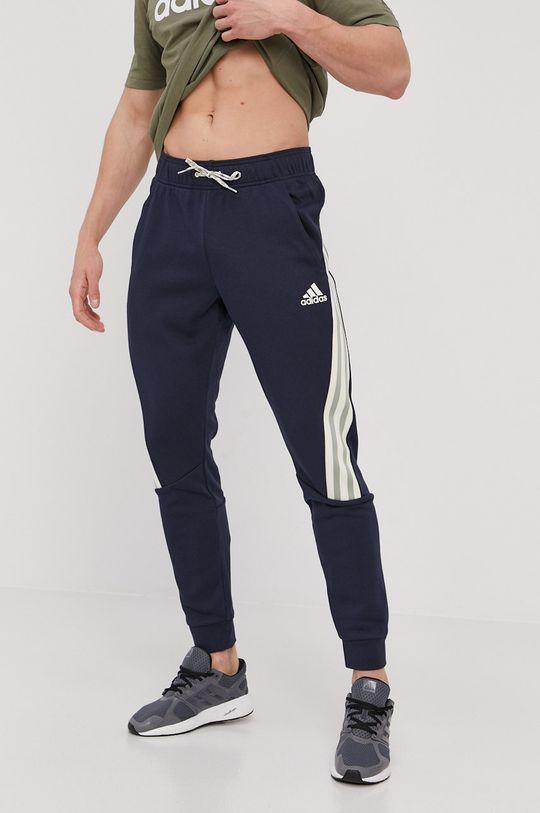 tmavomodrá adidas Performance - Nohavice Pánsky