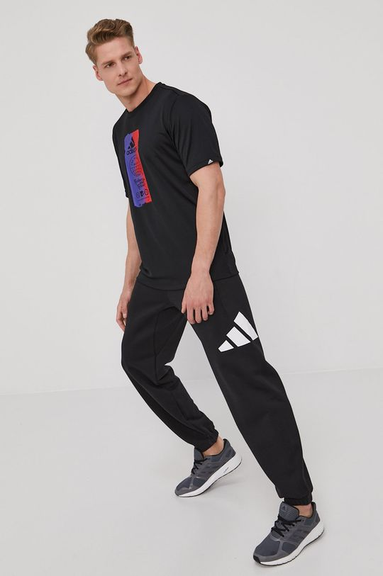 negru adidas Performance - Pantaloni