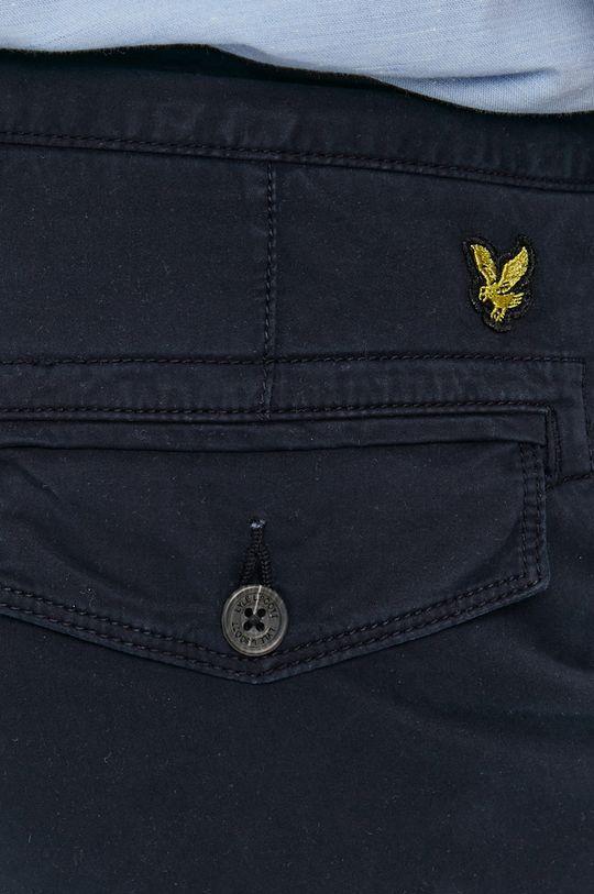 granatowy Lyle & Scott - Spodnie