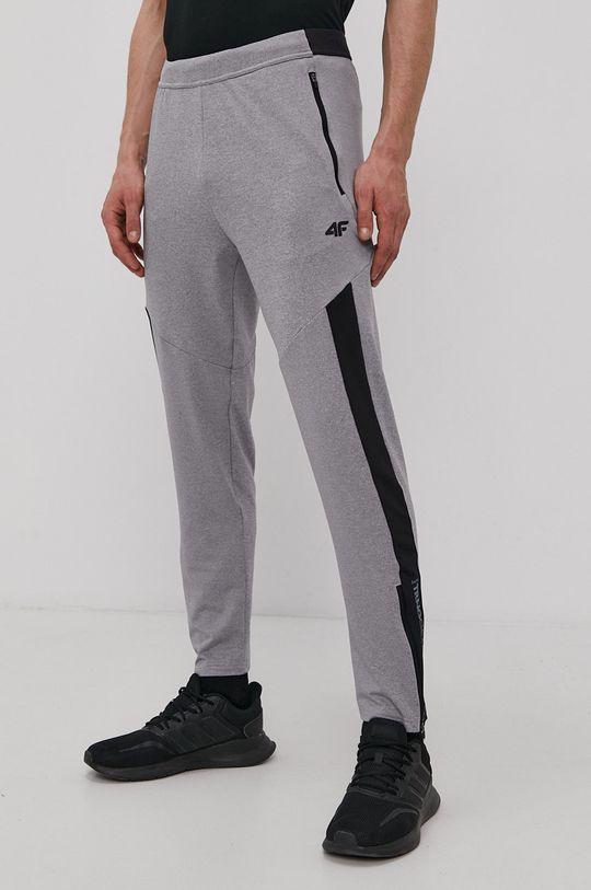 šedá 4F - Kalhoty Pánský