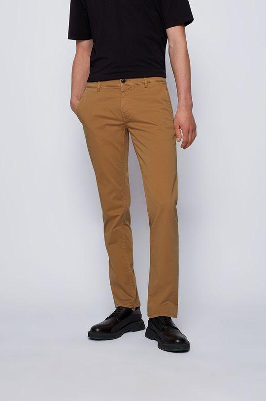 maro auriu Boss - Pantaloni Boss Casual De bărbați