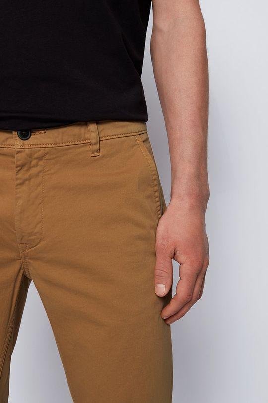 maro auriu Boss - Pantaloni Boss Casual