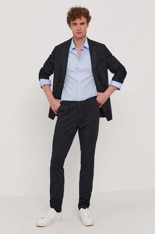 Boss - Spodnie granatowy