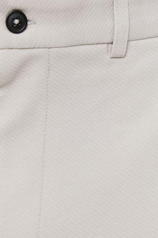 světle šedá Selected - Kalhoty