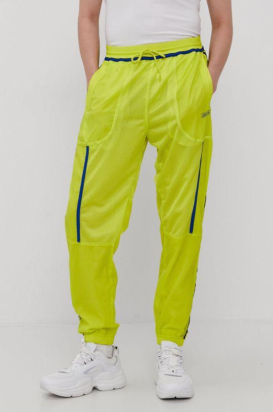 adidas Originals - Spodnie dwustronne żółty
