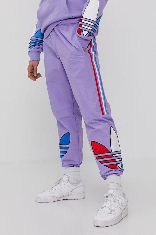 adidas Originals - Spodnie winogronowy