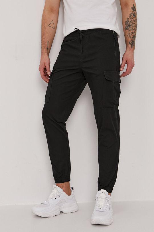 negru Selected - Pantaloni De bărbați