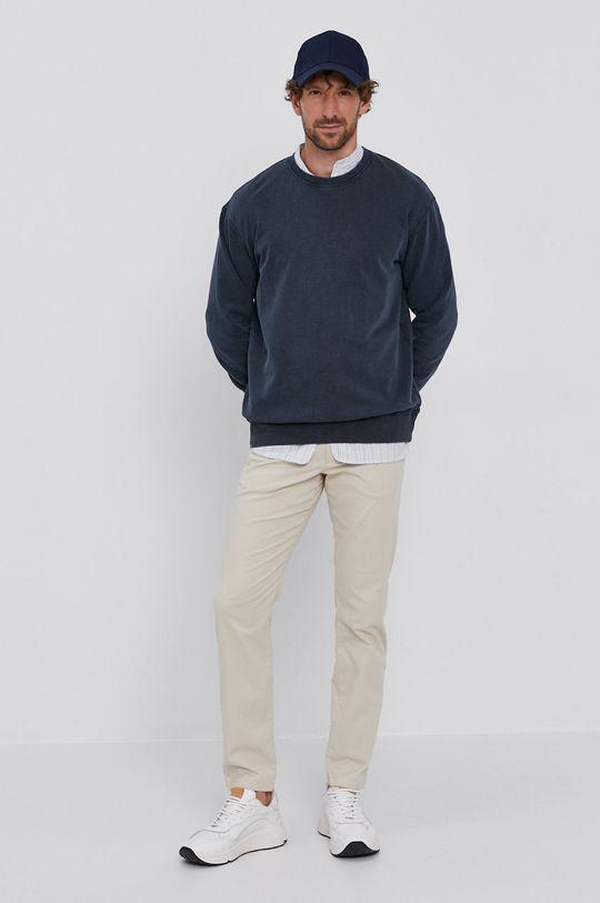 Selected - Spodnie kremowy