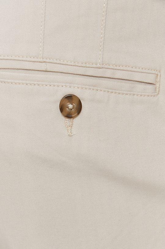 kremowy Selected - Spodnie