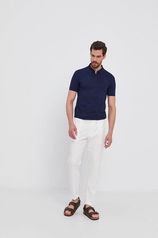 Calvin Klein - Nohavice biela