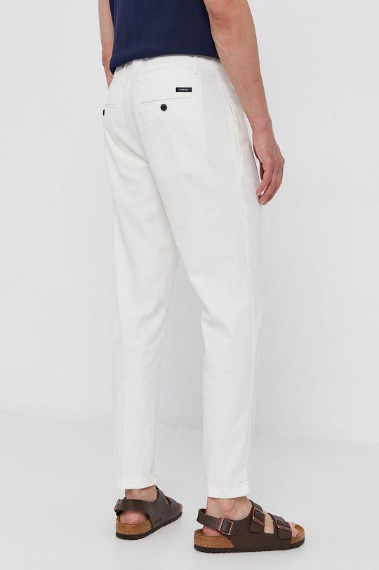 Calvin Klein - Nohavice  72% Bavlna, 3% Elastan, 25% Ľan