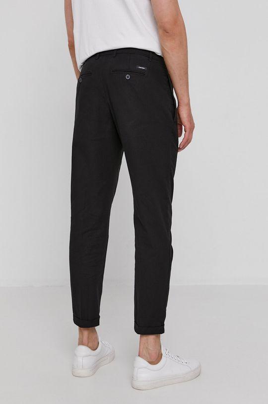 Calvin Klein - Spodnie 72 % Bawełna, 3 % Elastan, 25 % Len