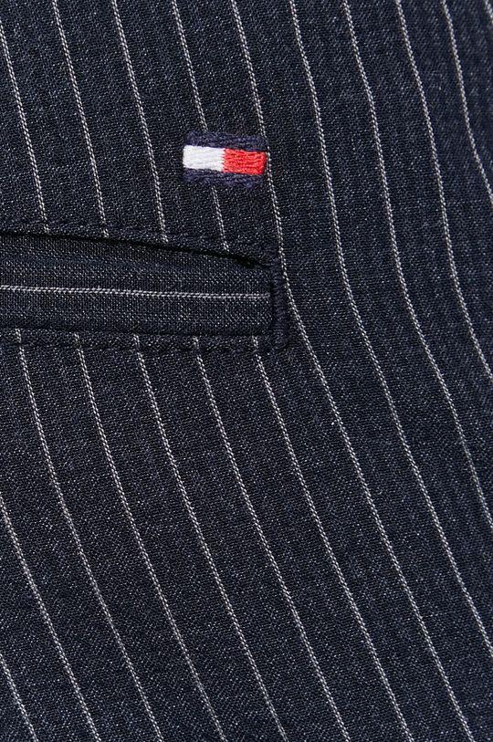 granatowy Tommy Hilfiger - Spodnie