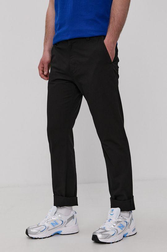 čierna Tommy Jeans - Nohavice Pánsky